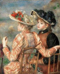 Pierre-Auguste Renoir. Two Girls. Philadelphia Museum of Art
