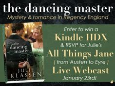 Win The Dancing Master and. Kindle DX.