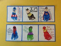 Superhero feet