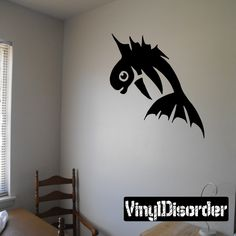 Fish Wall Decal - Vinyl Decal - Car Decal - DC759