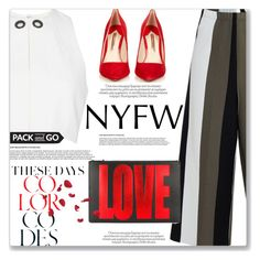 """NYFW Pt. 2"" by rintintin-diem ❤ liked on Polyvore featuring Circus Hotel, Sophia Webster, Thierry Mugler, Givenchy and NYFW"