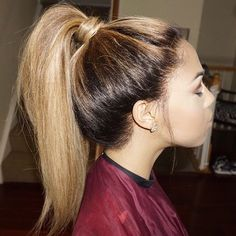Plait Styles, Hairline, Lace Wigs, Beyonce, Ponytail, Hair Inspiration, Wedding Hairstyles, Hair Cuts, Instagram Posts