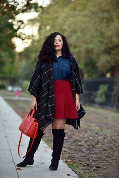 25 Winter Outfits We Want to Copy Right Now - Plus Size Winter Outfits for Women - Ideas of Plus Size Winter Outfits for Women - Have youstarted repeating the samejacket and scarf ensemble already? We thought so. Instead of getting in awinter fashi Winter Outfits For Teen Girls, Plus Size Winter Outfits, Winter Fashion Outfits, Fall Outfits, Casual Outfits, Fashion Ideas, Autumn Outfits Curvy, Fashion Boots, Plus Size Fashion For Women