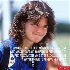 Sally Ride, American Hero...I remember this day, watching with my daughters...God bless them all
