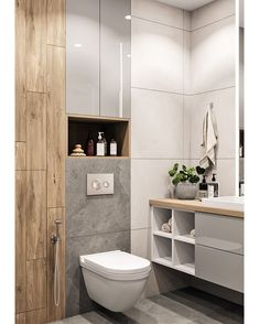 Modern Bathroom Ideas small and luxury. What tile to choose and how to equip a shower room. Modern Bathroom Decor, Modern Bathroom Design, Bathroom Styling, Bathroom Interior Design, Bathroom Ideas, Guys Bathroom, Remodled Bathrooms, Kitchen Interior, Bathroom Design Inspiration