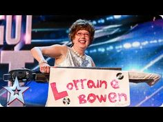 Britain& Got Talent: David Walliams sends Lorraine Bowen through to the live . Britain S Got Talent America's Got Talent Videos, Britain's Got Talent, Talent Show, Cute Songs, Freaking Hilarious, Buzzer, Under Pressure, Funny Kids, It's Funny