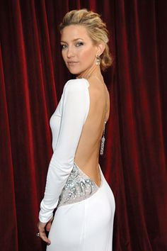 Kate Hudson con un vestido de Emilio Pucci.