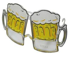 TALL BEER MUG PARTY GLASSES (sold by the piece or dozen ) – Novelties Company