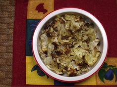 St Patrick's Day - roast cabbage - decent
