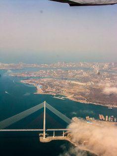Vladivostok, RUSSA RUSSKIY BRIDGE
