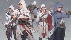  *Reproduced without authorization prohibited* Assassin's Creed -equal / eqio / echo A Chinese girl who are fond of drawing fanart  Assassins Creed 3, Assasin Creed Unity, Assessin Creed, All Assassin's Creed, Assasins Cred, Cry Of Fear, Connor Kenway, Graphic Novel, Character Art