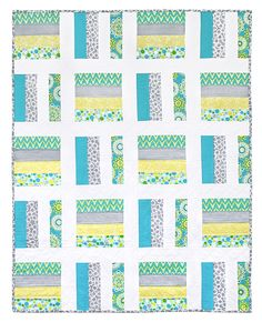 Avery Quilt | Free project on the Fabric Editions website.