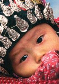 Miao baby Guizhou provinz China (PHC2620)