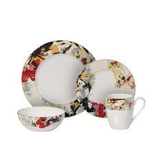 Pfaltzgraff Linea 16-piece Dinnerware Set by Pfaltzgraff | Dinnerware Casual dinnerware and Kitchens  sc 1 st  Pinterest & Pfaltzgraff Linea 16-piece Dinnerware Set by Pfaltzgraff ...