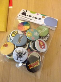 Another order fresh off the workbench. Checkout our latest designs & grab some badges in our 75p sale.