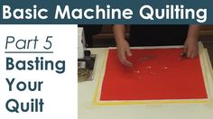 How to Baste a Quilt for Machine Quilting  Preparing Your Quilt Sandwich