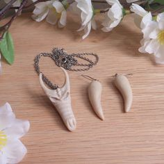 Dragon Jewelry | Ancient Memory | Dragon Skull Necklace Earring Set