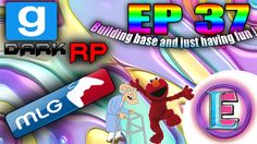 Gmod DarkRP EP 57 - BUILDING EPIC BASE AND RAIDING,  EMLO ! (building an...