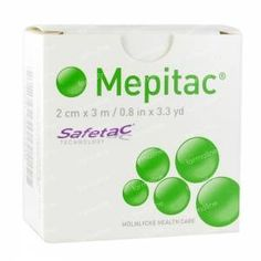 Mepitac tape for parchment paper skin