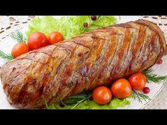 Šunka, syr, osmažená cibuľka a mleté mäso: Základ na fajnovú mäsovú roládu, ktorá nesmie chýbať na slávnostnom stole! Meatloaf, Holiday Recipes, Food And Drink, Turkey, Cooking Recipes, Favorite Recipes, Beef, Meals, Recipes