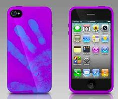 iPhone 4S cases with heat activation colour change - Phones Review