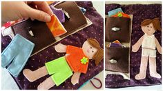 Love the drawers full of clothes. Very cute ideas for quiet book pages (2)
