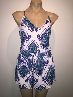 3f5acfe756af SHEIKE size 12 playsuit romper shorts top  fashion  clothing  shoes   accessories