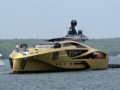 Palmer Johnson Yachts Unveiled a Golden 48 M Super Sport Yacht in Sturgeon Bay