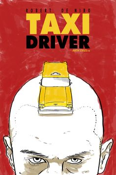 Taxi_driver poster By Matthew Bartlett #movie #poster #taxidriver