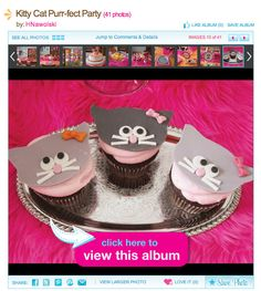 Cute Kitty Cat Party {Girls Birthday} - Hostess with the Mostess®