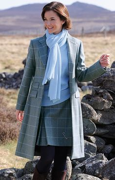 House of Bruar Ladies Tweed Cheltenham Coat from House of Bruar