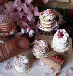 2017, Miniature Cake ♡ ♡ By Mi Mundo en Rosa
