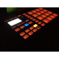 #maschine #mikro #drummachine #music #beats #sampling #hiphop #jazz #soul #light #studio