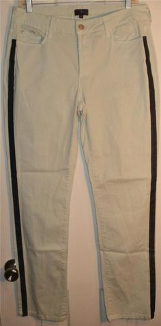 7884d33bb2a NYDJ Cotton and Elastane Skinny Leg Pants with Lift Tuck Made in USA  Size  10