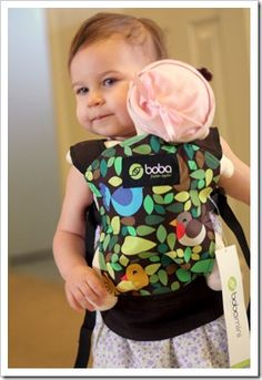 Check out this sneak peek of Boba's newest family member - the Boba Mini! Coming soon and only $29.95, this pint-sized carrier is the perfect toddler toy for kids of babywearing mamas and dads.