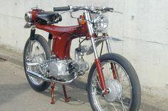 Luusama Motorcycle And Helmet Blog News: Honda CD E-Jane 85cc Weird Motorcycle Bike !!