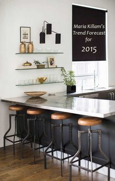 and brass Maria Killam's Trend Forecast for 2015