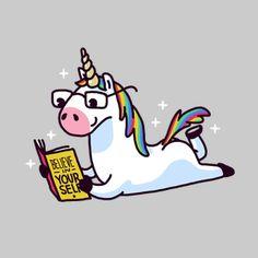 Unicorn Believe in Yourself Magically Fabulous
