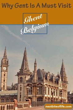 Ghent is a must visit in Belgium. Gent is a beautiful medieval city. Great architecture, food,and scenery. Europe Travel Tips, Travel Usa, Travel Guides, Travel Destinations, European Destination, European Travel, World Of Wanderlust, Ghent Belgium, Senior Trip