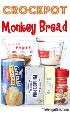 Crockpot Monkey Bread Recipe in Breakfast Recipes, Christmas, Dessert Recipes, Easter Recipes, Recipes