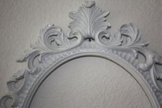PICK YOUR COLOR Ornate Oval Frame / Shabby Chic / by 2CountryChics, $47.00
