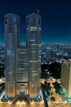 Tokyo Metropolitan Government Building by Bernardo © (http://Ricci-Armani.com) || free observation deck on the 45 floor
