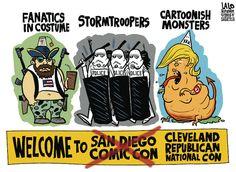 Lalo Alcaraz Editorial Cartoon, July 19, 2016     on GoComics.com