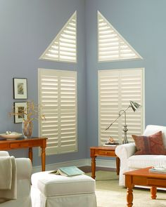 family room window treatments kitchen hunter douglas palm beach polysatin custom shutters on angled window the louver shop family rooms window treatments 164 best images pinterest in