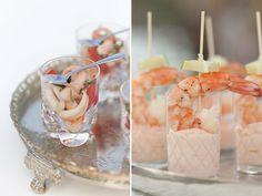 Saladinha de frutos do mar e coquetel de camarão mediterrâneo - Constance Zahn