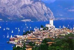 Malcesine, Lago di Garda by geraldine