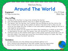 Math Game Monday! - Teaching Maths with Meaning