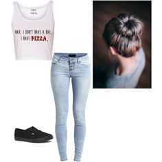 Lazy day by sarahlinton on Polyvore featuring polyvore, fashion, style, Object Collectors Item and Vans