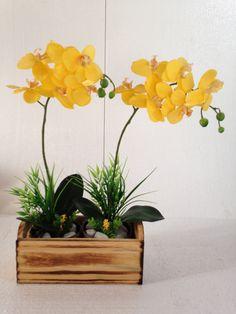 vaso de vidro com orquidea - Buscar con Google