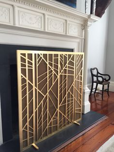 Verner fire screen (Available thru Mitchell Hill)